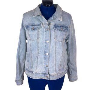 Universal Thread XXL light wash jean jacket